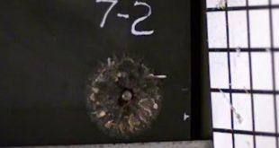 رغوة معدنية تحول طلقات الرصاص إلى غبار