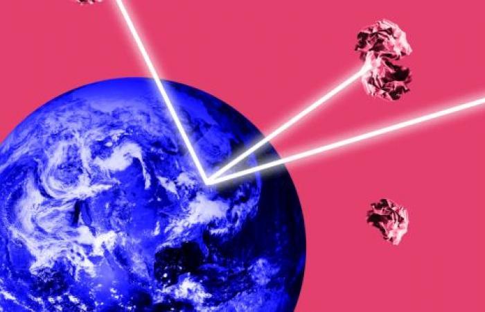 روسيا تطور طريقة للتخلص من النفايات الفضائية بالليزر