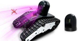 روبوت بحجم لعب الأطفال يطلق الليزر للقضاء على البعوض